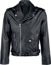 Classic Style - Skinnjacka - Läderjacka - svart