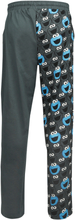Sesam Stasjon - Cookie Monster - Cookie -Pyjamasbukser - grå