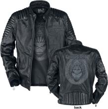 Iron Maiden - Book Of Souls Skull - Läderjacka - svart