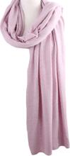 Kasjmier-blend sjaal/omslagdoek in gemêleerd lila