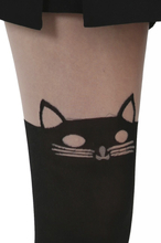 Pamela Mann - Cat -Tights - svart