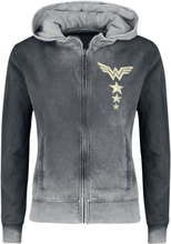 Wonder Woman - Vintage Logo -Hettejakke - svart