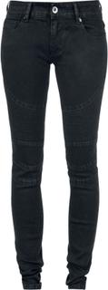 Forplay - Biker Pants - Jeans - svart