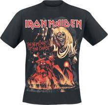 Iron Maiden - Number Of The Beast Graphic - T-shirt - svart