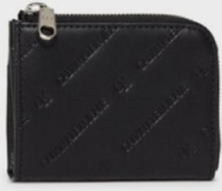 Calvin Klein Jeans Ckj Diagonalmonogram Short Zipar Punge Black