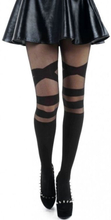 Pamela Mann - V Strap Sheer Tights -Tights - svart
