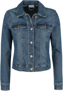 Noisy May - Debra Denim Jacket - Jeansjacka - blå