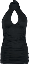 Fashion Victim - Turn Up - Halternecks - svart
