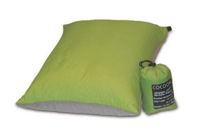 Cocoon Air-Core Pillow Ultralight, vihreä matkatyyny