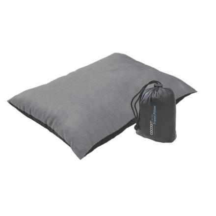 Cocoon Air-Core Pillow harmaa matkatyyny