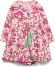 Jungle Flower Bodysuit Kjole Rosa Mumin