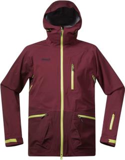 Bergans Myrkdalen Insulated Jacket Herre skijakker fôrede Rød XL