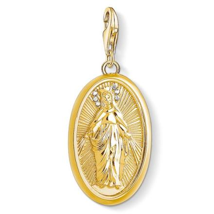 Den Heliga Madonnan Berlock Guld