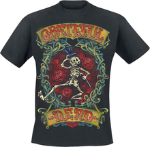 Grateful Dead - Skeleton -T-skjorte - svart
