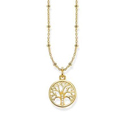 Halsband Tree of Love Guld