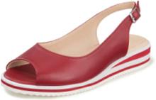 Sandaler Rebecca fårnappa från Salamander röd