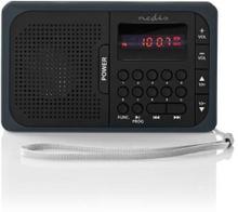Nedis RDFM2100GY FM-radio bærbar