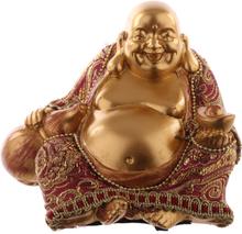 Lucky buddha, sittande kinesisk buddha
