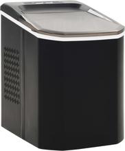 vidaXL Ismaskin 1,4 L 15 kg / 24 tim svart