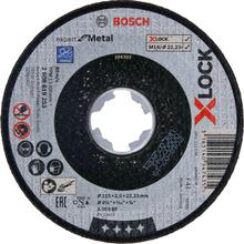 Bosch Expert for Metal Kapskiva med X-LOCK, rak sågning 115 × 2,5 × 22,23 mm