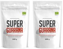 Super Guarana Powder - Førsteklasses Organisk Oppkvikkende Fruktpulver Fra Amazonas - 100g - 2-pakni