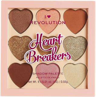I Heart Heartbreakers Majestic Eyeshadow Palette, Makeup Revolution Ögonskuggspalett