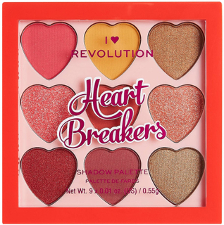 I Heart Heartbreakers Courage Eyeshadow Palette, Makeup Revolution Ögonskuggspalett