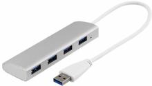 USB 3.1 Gen 1 hubb med 4 portar