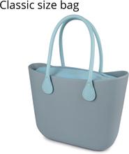 2019 New Obag Style Classic EVA Bag with Insert Inner Pocket Handles Colorful EVA Silicon Rubber Waterproof Women Handbag
