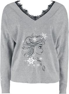 Frozen - Elsa -Collegegenser - grå