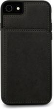Cirafon Genuine Leather Flip Wallet Iphone 8, Iphone 7, Iphone Se (2020) Musta