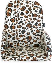 Jollein Matstolsdyna leopard brun