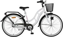 """Velova Ängsgården 24"""" Junior Barn City bike Vit 15"""