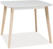 Matbord Salma 90 cm - Vit/ek