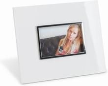 Fotoramme - højglans hvid 10x15 cm