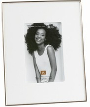 Hvid fotoramme - medium