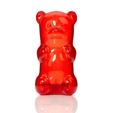 Gummibjörn Lampa Röd