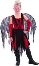 Ond fekostym i rött och svart för barn till Halloween ffbe968f81792