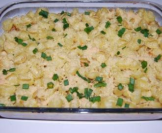 recipe: zapiekanka makaronowa z mięsem mielonym i pieczarkami [13]