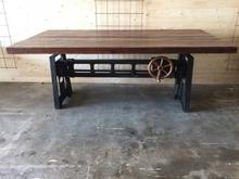 Höj- och sänkbart barbord/matbord (240x90)