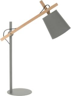 Sheer lampe - grå og træ