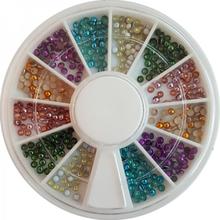 Negldekor - Perler små fargede