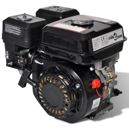 vidaXL Bensinmotor 6,5 HK 4,8 kW svart