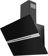 Eico Classy 80 N Eco Vegghengt Ventilator - Svart