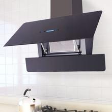 vidaXL Köksfläkt med pekskärm 900 mm svart