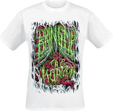 Bring Me The Horizon - Spill Your Gutts -T-skjorte - hvit