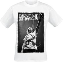Bring Me The Horizon - Live B&W -T-skjorte - hvit