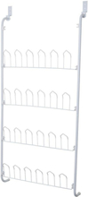 Shoe rack to be mounted on the door - 17x60.5x145cm for 12 pairs of shoes