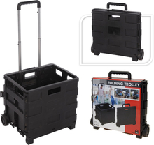 Trolley Foldable Shopping Crate - 30 Liter