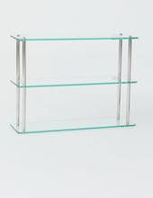H & M - Vegghylle i glass - Sølv